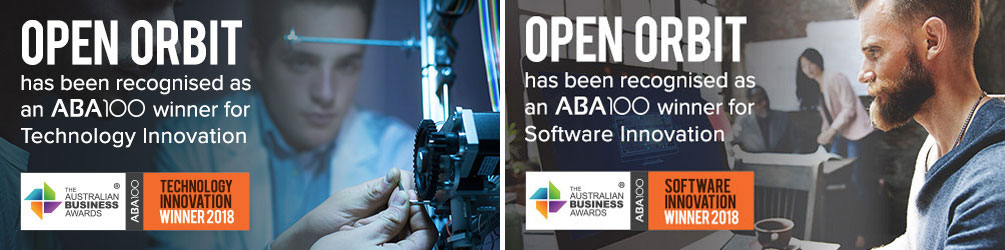 Stone & Chalk start-up, Open Orbit, wins both Technology and Software categories at The Australian Business Awards